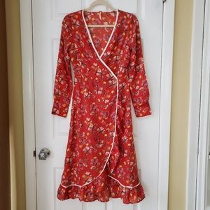 BRAND NEW Free People Covent Garden Wrap Dress